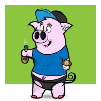 Porky Punx #319
