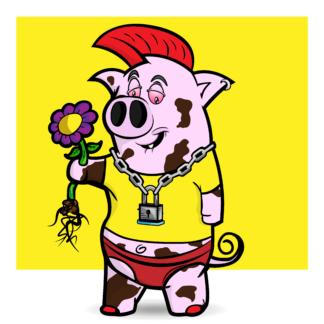 Porky Punx #21