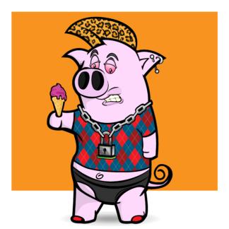 Porky Punx #79