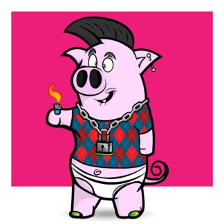 Porky Punx #98