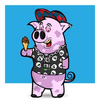Porky Punx #100